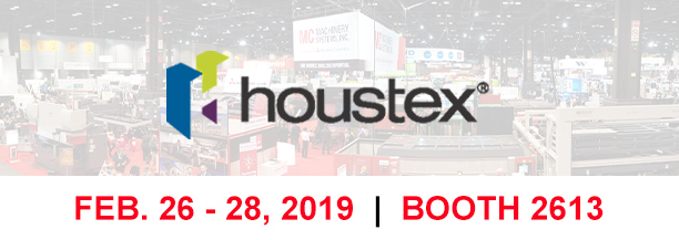 See the Latest MC Machinery Technology at HOUSTEX 2019